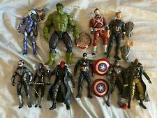Hasbro Marvel Legends Cap America Hulk Fury Rescue Skull Nebula Ant-Man Figures