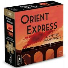 The Orient Express Classic Mystery Jigsaw Puzzle Read Solve & Assemble 73 X53cm