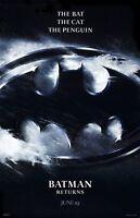 Batman Returns movie poster (b) : 11 x 17 inches - Tim Burton, Michael Keaton