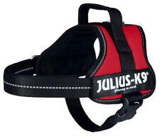 Julius-k9 Powergeschirr Mini M 51-67 rot Hundegeschirr Futter atmungsaktiv