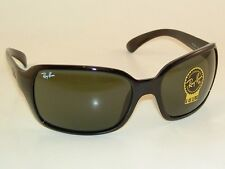 New  RAY BAN  Sunglasses  Black Frame  RB 4068 601  G-15 Glass Lenses
