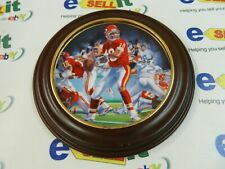 "Joe Montana ""THE NFL Superstar Collector Plate Series By Sports Impressions"""