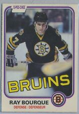1981-82 O-Pee-Chee Ray Bourque Boston Bruins  2nd Year EX+/NMT