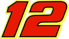 NEW FOR 2018 #12 Ryan Blaney Racing Sticker Decal Sizes SM-XL Various colors