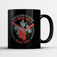Gun Owner Coffee Mug - Right To Bear Arms - Funny 11 oz Black Ceramic Tea Cup -