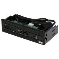 STW 5.25 Lecteur Cartes Interne Dashboard Multimédia Panneau Frontal Support