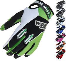 Wulf Stratos Cub Motocross Gloves Off Road Enduro MX Children Kids Junior Youth