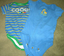 Two Boy'S Oncie Size9 Months