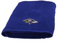Baltimore Ravens NFL Bath Towel Cotton Shower Bathroom Pool Workout Water Park