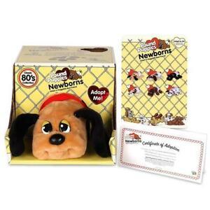 Pound Puppy - Newborn - Brown With Black Spots