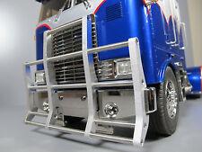 New Aluminum Front Animal Bumper Guard Tamiya 1/14 Semi Globe Liner Truck