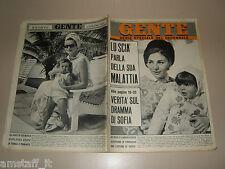 GENTE 1967/4=FARAH DIBA=GRACE KELLY=GIAN PIERETTI MARIO GUARNERA SANREMO=