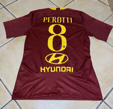 Maglia Preparata/Matchworn Autografata Termo Applicata  Perotti 8 As Roma
