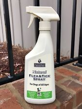 Natural Chemistry Flea Tick Spray 24 oz Natural Botanical Flies Mosquitoes Dogs