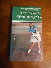 Vhs_Finally! A Golf Instructional Video for Women_Hit It Farther w/ Betsy Cullen