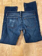 Bonobos mens jeans 31/34 bootcut 5 pockets spandex cotton $120.00 retail
