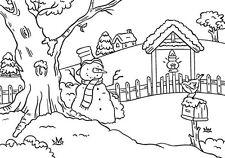 Prägefolder Embossing-Schablone Snowman Schneemann am Baum Nellie Snellen PIF005