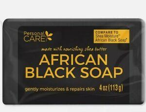 Personal Care African Black Soap. Anti Acne. Moisturizes & Repairs Skin. 4 Oz