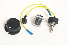 Potentiometer & Switch + Knob for Powakaddy Freeway - Fully Insulated Terminals