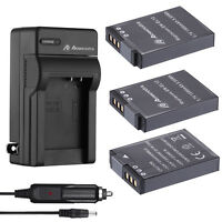 EN-EL12 Battery + Charger for Nikon Coolpix AW130 AW120 S6000 S6100 P300 P310