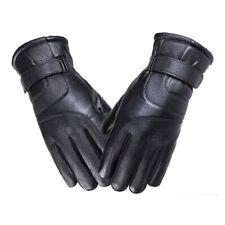 Winter Warm Wind Proof Waterproof Men Free Size Glove Full Finger Leather Gloves