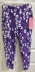 *NWT* Betsey Johnson Performance High Rise 7/8 Leopard Leggings, Size Small(S)