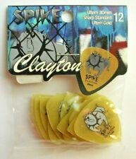 12 Clayton Spike Picks 0,80 MM Sharp Guitar Pick Hang Bag