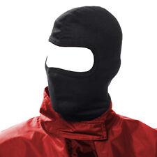 UK Warrior Black Ninja Mask Under Helmet Army Style Neck Warmer Balaclava Hood