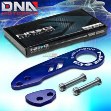 "NRG 10MM 2.25""OPENING ALUMINUM BLUE RACING TOWING TOW HOOK REAR+BOLTS KIT"