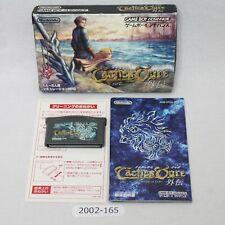 Nintendo Gameboy Advance Tactics Ogre Gaiden w/box working Japan 2002-165