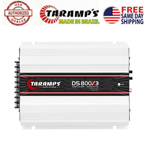 TARAMPS DS 800x3 AMPLIFIER 1 OHM 800W RMS - USA DEALER - SAME DAY SHIPPING
