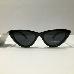 Lucky Brand Sunglasses D2004 Black/Grey 53 mm Non-Polarized