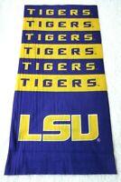 Louisiana State Tigers LSU NCAA Multi Purpose SuperDana Neck Gaiter Logo Scarf