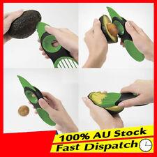 3-in-1 Avocado Slicer Splits Slice Sharp Blade Plastic Fruit Pitter Corer Peeler