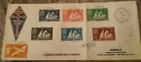 St.pierre & Miquelon Postage stamps First day Cover Set Super Great condition...