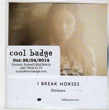 (FL136) I Break Horses, Disclosure - 2014 DJ CD