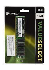 VS1GB333 Corsair Value Select 1gb Memory Module Pc-2700 333mhz DDR DIMM