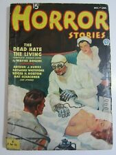 HORROR STORIES DEC JAN 1936 GD The Dead Hate the Living!