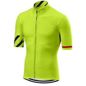Summer Cool Men's Road Cycling Short Sleeve Jersey Bike Riding Shirts Maillots