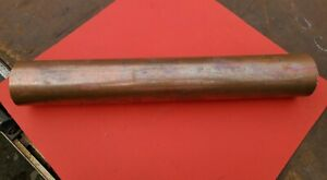 Copper pipe 67mm OD offcut piece 425mm long tube gas water art steam