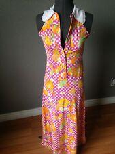 Vintage Allegro New York Maxi Dress Small