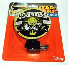 Disney Star Wars Master Yoda Night Light Nip #0035