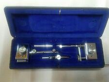 Dietzgen Beam Compass Trammel Vintage Drafting Set Model 978 with Case