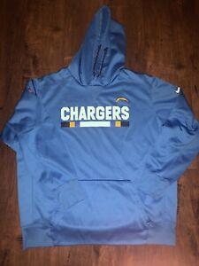 Nike NFL LA Chargers Dri-fit Therma-fit Sweatshirt Hoody