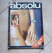 ABSOLU Le magazine Français de l'homme n° 15