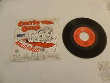 "CORRIE VAN GORP - Hallo Hallo - 1985 Dutch 7"" Juke Box Vinyl Single"
