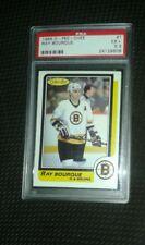 1986 O-Pee-Chee #1 Ray bourque hockey psa free shipping