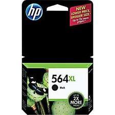 HP 564XL Black Ink Cartridge NEW 2015 HP Factory Sealed Box