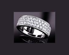 Brillant Diamant Ring 18 Karat 750er Weißgold 1,40 Karat Top Wesselton G Neu