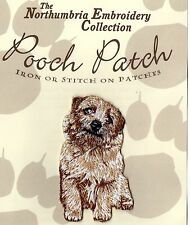 Norfolk Terrier  EMBROIDERED Pooch Patch